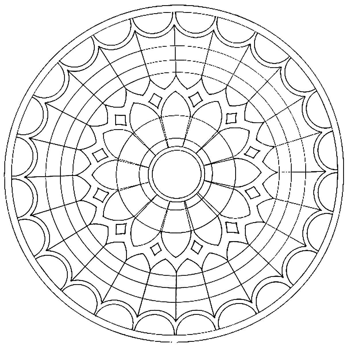 Mandala 16 furnicutele 2012 2013 - Modele de mandala ...