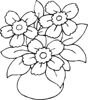 Imagini De Colorat Cu Flori De Vara Idea Gallery